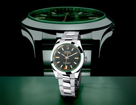 Rolex Milgauss, who can resist showing this picture again?