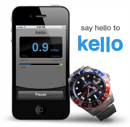 Kello Mechanical Watch Analyzer