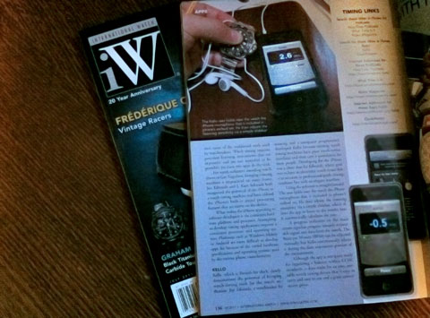 Kello featured in iW Magazine